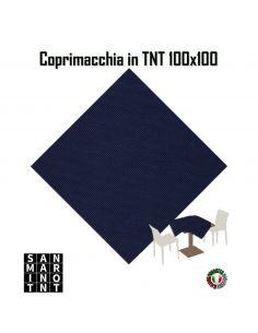 Coprimacchia 100x100 in tnt colore Blu Notte