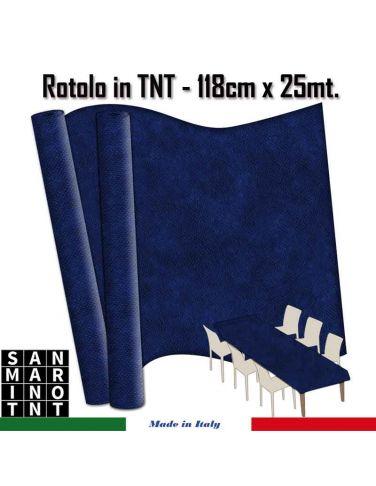 Rotolo in TNT cm.118x25 mt colore blu