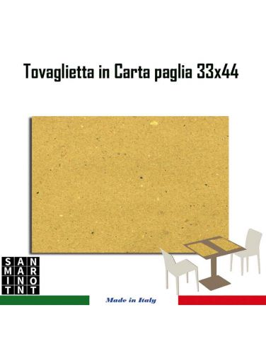 Tovaglietta Americana Carta Paglia 33x44 1000 pz