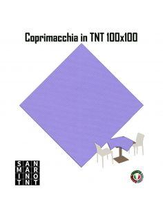 Coprimacchia 100x100 in tnt colore Lilla
