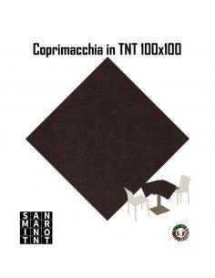 Coprimacchia 100x100 in tnt colore Marrone