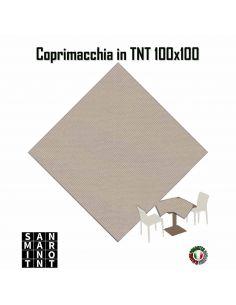 Coprimacchia 100x100 in tnt colore Sabbia