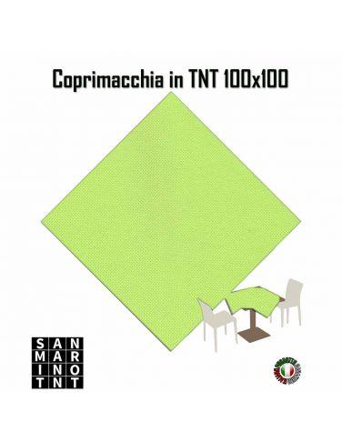 Coprimacchia 100x100 in tnt colore Verde Mela