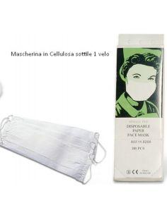 MASCHERINE MONOUSO IGIENICHE 1 velo cf 100 pz