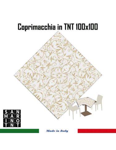 Coprimacchia 100x100 in tnt Arabesco...