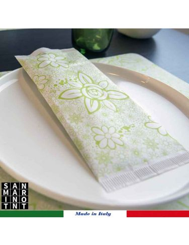 Busta portaposate Prato verde 1000 pz