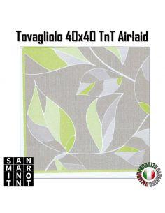 Tovagliolo in Airlaid Simphony verde 40x40