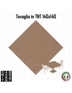 Tovaglia in tnt monouso 140x140 colore beige