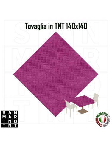 Tovaglia in tnt monouso 140x140 colore fuxia