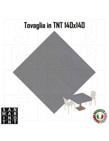 Tovaglia 140x140 in tnt colore Grigio 20 pz.