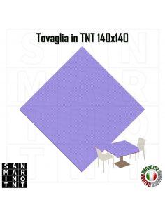 Tovaglia 140x140 in tnt colore Lilla