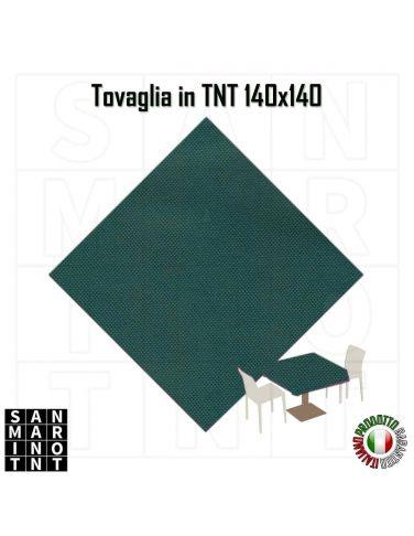 Tovaglia in tnt 140x140 colore Verde scuro