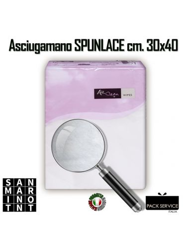 Asciugamano in TNT Spunlace 30x40