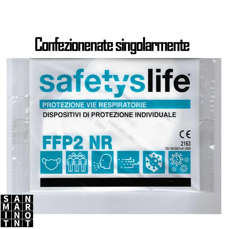 Mascherina protettiva richiudibile monouso FFP2